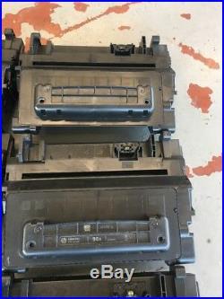10 Virgin Empty HP 90A Laser Toner Cartridges CE390A