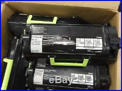 10 Virgin Genuine Empty Dell Lexmark MS810 Toner Cartridges