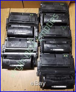 10 Virgin Genuine Empty HP 42X Laser Toner Cartridges FREE SHIPPING Q5942X