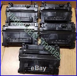 10 Virgin Genuine Empty HP 64A Laser Toner Cartridges FREE SHIPPING CC364A