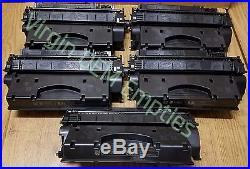 10 Virgin Genuine Empty HP 80X Laser Toner Cartridges FREE SHIPPING