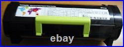 10 Virgin Genuine Empty Lexmark MS321 MS421 MS521 Toner Cartridges FREE SHIP