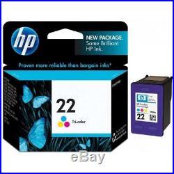 100 Virgin Empty Genuine HP 22 Color Inkjet Cartridges QUALITY EMPTIES
