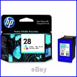 100 Virgin Empty Genuine HP 28 Color Inkjet Cartridges QUALITY EMPTIES