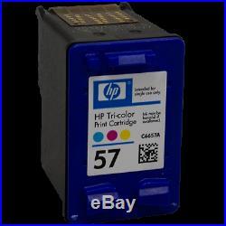 100 Virgin Empty Genuine HP 57 Color Inkjet Cartridges QUALITY EMPTIES