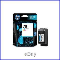 100 Virgin Genuine Empty HP 78 Inkjet Cartridges BLUE LABELS ONLY