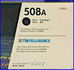 11 Units Virgin Genuine Empty HP 508A (CF360A, 61A, 62A) Mix Toner Cartridges