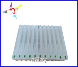 11PC Empty Refillable Ink Cartridge With Chip For Epson SureColor P7000 P9000