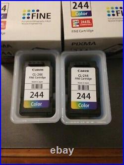 (12) Canon Pixma Fine Ink Cartridges (12) Empty Ink Cartridges! Great Deal