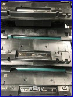14 Virgin Empty HP 55A Laser Toner Cartridges CE255A