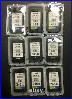 17 Genuine Canon 243 / 244 / 245 / 246 EMPTY Virgin Ink Cartridges
