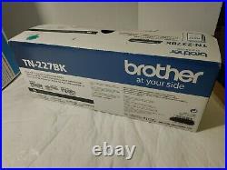 2 Factory Sealed Brother TN-227BK Black High-Yield Toners MFC L3710 L3750 L3770