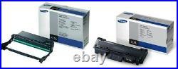 2 Genuine Factory Sealed Samsung R116 Imaging Unit & D116L Black Toner Cartridge