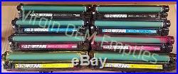 2 sets Virgin Genuine Empty HP CE270A CE273A Toner Cartridges FREE SHIP 650A
