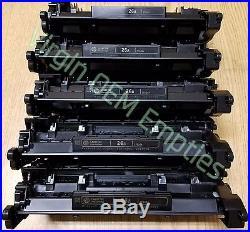 20 Virgin Genuine Empty HP 26A Laser Toner Cartridges FREE SHIPPING CF226A