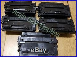 20 Virgin Genuine Empty HP 55A Laser Toner Cartridges FREE SHIPPING CE255A