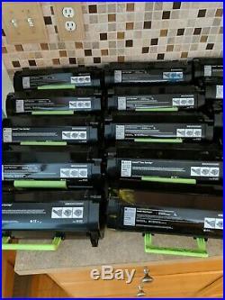 20 Virgin Genuine Empty Lexmark MS310 MS410 MS510 Toner Cartridges FREE SHIP FP1