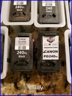 20 empty Canon Ink cartridges 240 XL/241XL all virgin cartridges
