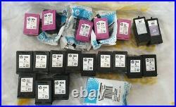 20 x Genuine virgin Empty Ink Cartridges HP304 Black Tri-Colour, Lexmark 23 24
