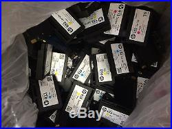 213 HP 932 & 933 Black Colors VIRGIN Empty Ink Tank Cartridges RECYCLE