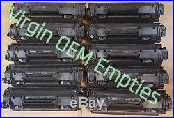 24 Virgin Genuine Empty Canon 128 Toner Cartridges FREE SHIPPING