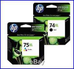 300 Total Genuine Virgin Empty HP 74XL and 75XL Inkjet Cartridges FRESH EMPTIES
