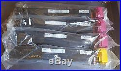 4 Genuine SEALED Konica Minolta TN612M Magenta TN613Y Yellow Toner Cartridges