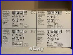 4 New Genuine HP CE264X CF031A CF032A CF033A 646A 646X Cartridge Sealed Boxes
