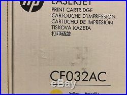 4 New Genuine HP CE264X CF032A CF033A 646A 646X Toner Cartridge Sealed Boxes OEM