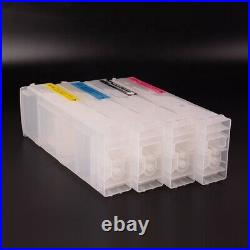 4 Pcs/Set 800ML/PC For HP 80/90 Empty Ink Cartridges For HP 4000 1050c 4500