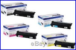 4 Sets Virgin Genuine Empty Brother TN431 TN436 Toner Cartridges TN-431 TN-436