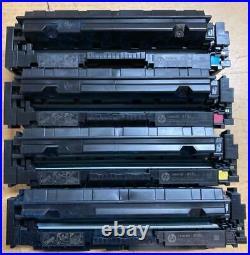 4 Sets Virgin Genuine Empty HP W2020X W2023X Toner Cartridges 414X