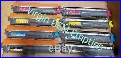 4 Sets plus 2 Extra Black Virgin Empty Brother TN221 TN225 Toner Cartridges