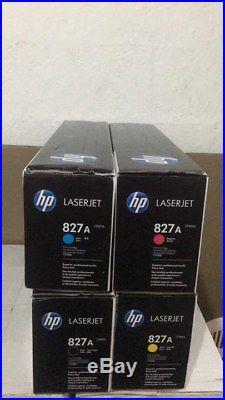 4 Total (1 sets)HP 827A 828A Cartridges & Drums CF300A CF358A etc
