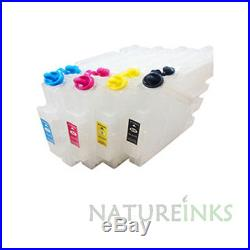 4 empty Refill GC41 GC 41 Ink Cartridge in use Ricoh SG2100n sublimation printer