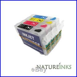 4 empty refill refillable ink cartridges T1305 (T1301 T1302 T1303 T1304)