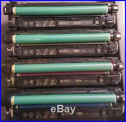 4 sets Virgin Genuine Empty HP CF360X CF363X Toner Cartridges FREE SHIP 508X