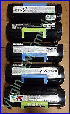 40 Virgin Genuine Empty Dell Lexmark MS810 Toner Cartridges FREE SHIP 521