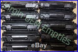 40 Virgin Genuine Empty HP 83A Laser Toner Cartridges FREE SHIPPING NOT INTROs