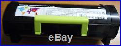 40 Virgin Genuine Empty Lexmark MS310 MS410 MS510 Toner Cartridges FREE SHIP 500