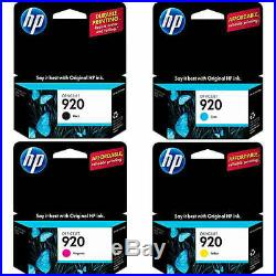400 Genuine Virgin Empty HP 920 Inkjet Cartridges QUALITY EMPTIES (100 sets)