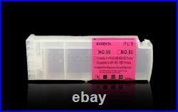 4PC 800ML Refillable Cartridge for HP 80 for HP 1050c 1050c Plus 1055cm Printer