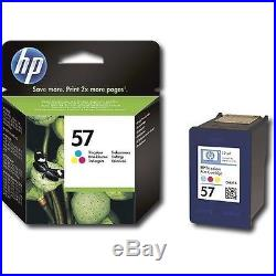 50 Virgin Empty Genuine HP 57 Color Inkjet Cartridges FRESH EMPTIES