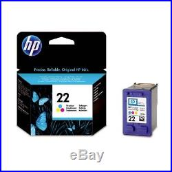 50 Virgin Genuine Empty HP 22 Color Inkjet Cartridges EMPTIES