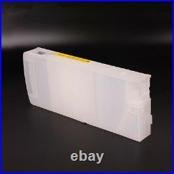 6 Colors/Set For HP 790 Empty Refillable 1300ml Bulk Ink Cartridge For HP 9000
