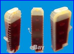 6 EMPTY REFILLABLE INK CARTRIDGES canon IPF650 IPF655 IPF700 IPF710 IPF720 CISS