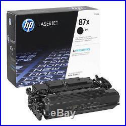 6 Virgin Genuine EMPTY HP 87X Laser Toner Cartridges FREE SHIPPING CF287X