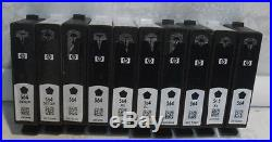 60 Genuine Virgin HP & Cannon Black Tri Color EMPTY Ink Cartridge Never Refilled