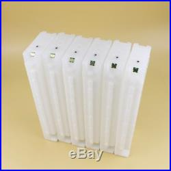 600ML Empty Refillable Ink Cartridge With Chip For Epson Surecolor F2000 Printer