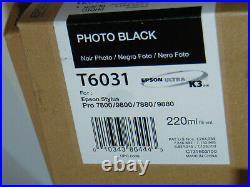 64 USED EMPTY 220ml GENUINE EPSON PRINTER INK CARTRIDGES! STYLUS PRO 7800/9800